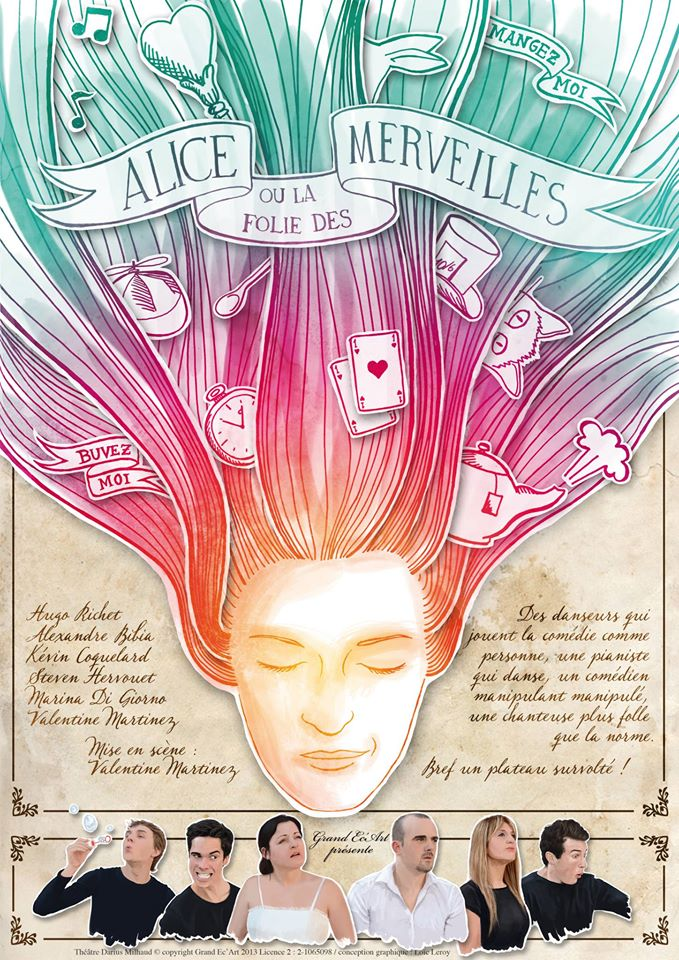 Alice affiche